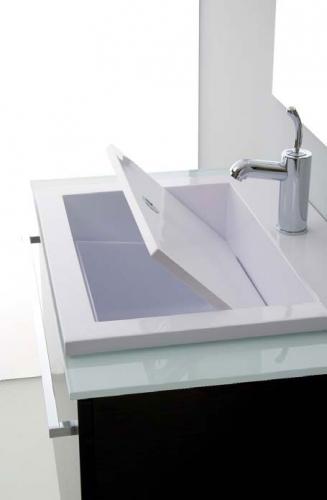 Mobili bagno mobile bagno con lavabo zeus 80 - Misure lavabo bagno ...