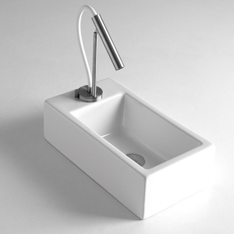 Lavabi appoggio lavabo appoggio 24x44 mini - Mini lavabo bagno ...