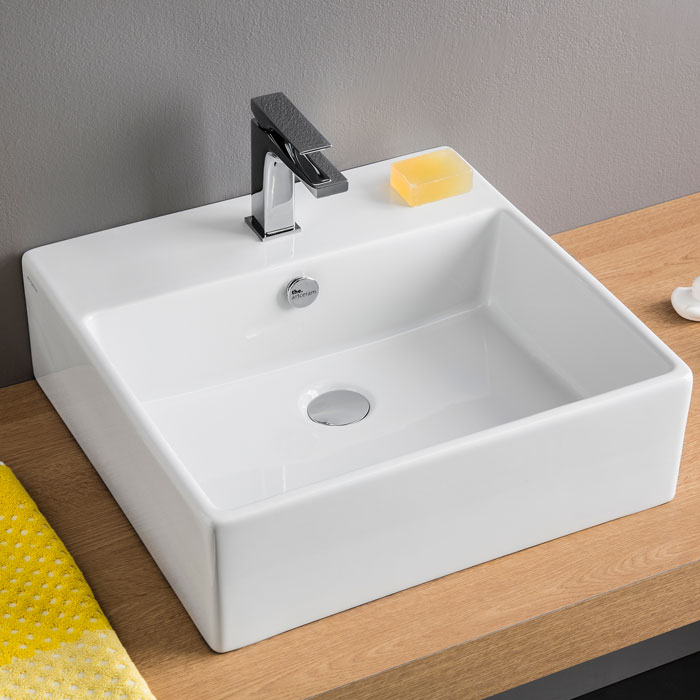 Lavabi da appoggio prezzi e offerte on line per il bagno for Porta quadro da appoggio