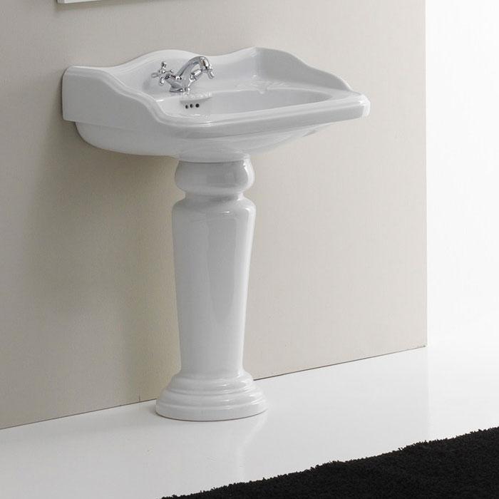 Lavabi su colonna lavabo su colonna roma 67 for Lavabo a colonna