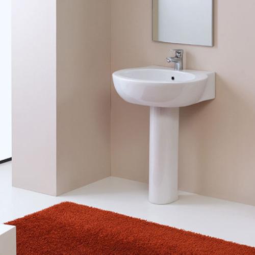 Lavabi su colonna lavabo con colonna soho 67 50 - Lavabo con colonna ...