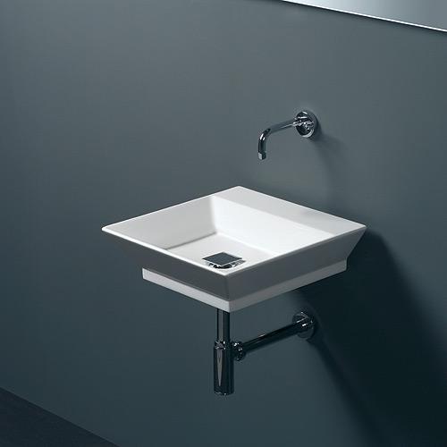 Lavabi sospesi lavabo sospeso artik 45 for Lavabo sospeso