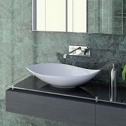 Arredo bagno sanitari e lavanderia vendita on line jo - Lavabo bagno appoggio ...