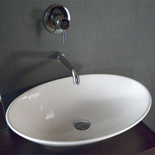 Lavabi da appoggio prezzi e offerte on line per il bagno - Lavello bagno appoggio ...