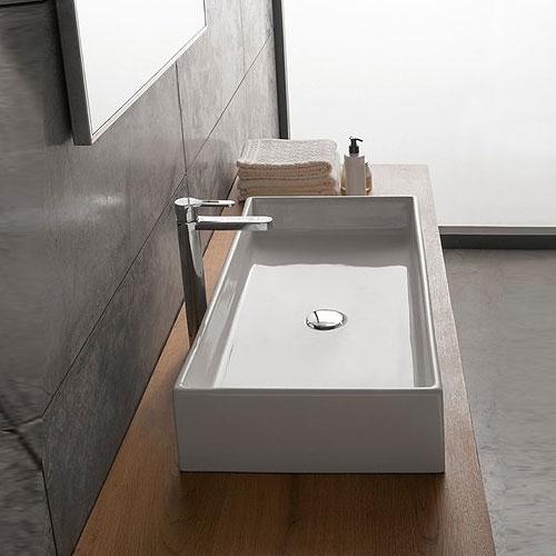 Lavabi appoggio lavabo appoggio teorema 80 - Lavabo bagno appoggio ...