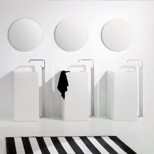 Lavabi su colonna lavabo colonna a parete oz for Lavabo a colonna