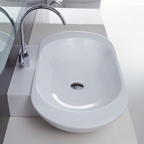 Lavabi appoggio lavabo da appoggio ovo 80 for Lavabo da appoggio misure