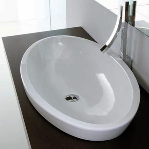 Lavabi appoggio lavabo da appoggio sfera 80 for Lavabo da appoggio misure