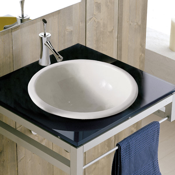 Lavabo incasso In-Out 30 Scarabeo Ceramica
