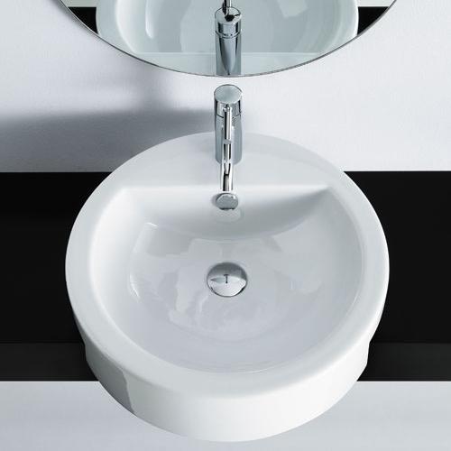 Lavabi appoggio lavabo semincasso magritte - Lavabo bagno semincasso ...