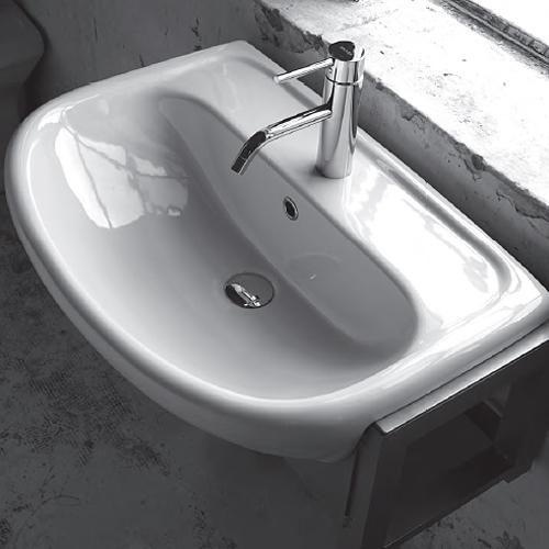 Lavabi incasso lavabo semincasso atene - Misure lavabo bagno ...
