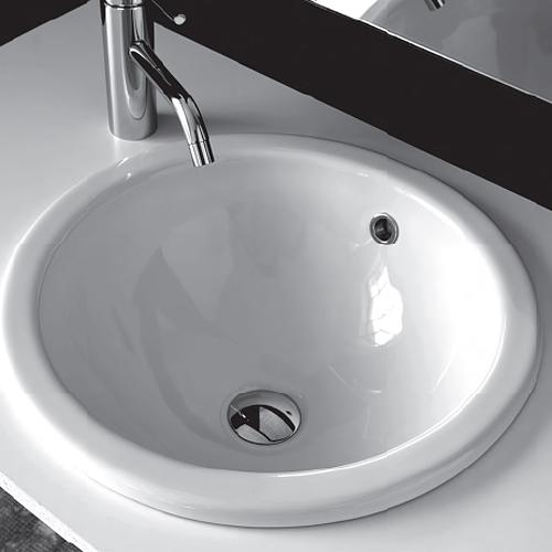 Lavabi soprapiano - Accessori bagno in ceramica da incasso ...