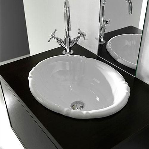 lavabi incasso : lavabo soprapiano 48x40 old england - Arredo Bagno Old England