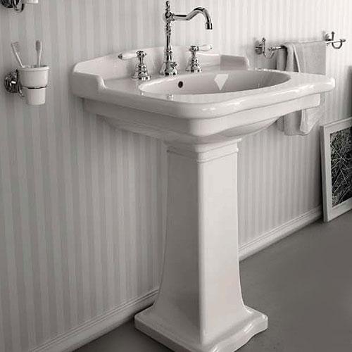 Lavabi su colonna lavabo su colonna ellade 63 - Lavabo con colonna ...