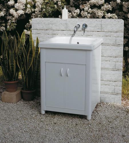 Lavabo In Ceramica Per Esterno.Lavatoi Per Esterno Lavatoio Per Esterno In Ceramica Corallo 60x50