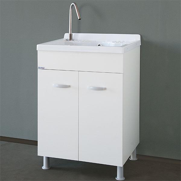 Lavanderia e lavatoi lavatoio con mobile 60x50 lemon for Mobile lavatoio