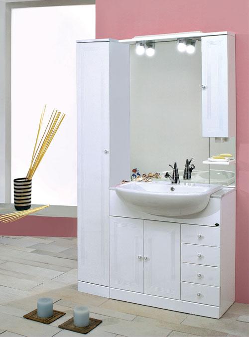 Mobili con lavabo semincasso vendita on line jo - Vendita on line mobili bagno ...