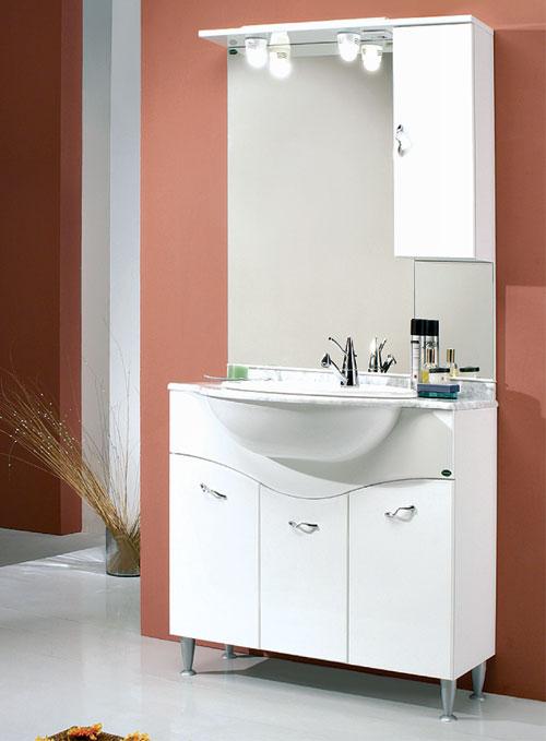 Arredo bagno economico mobile bagno 70 onda - Mobile bagno 70 ...