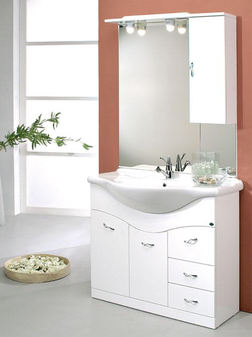 Arredo bagno economico mobile bagno 72 onda con cassetti - Mobile bagno con cassetti ...