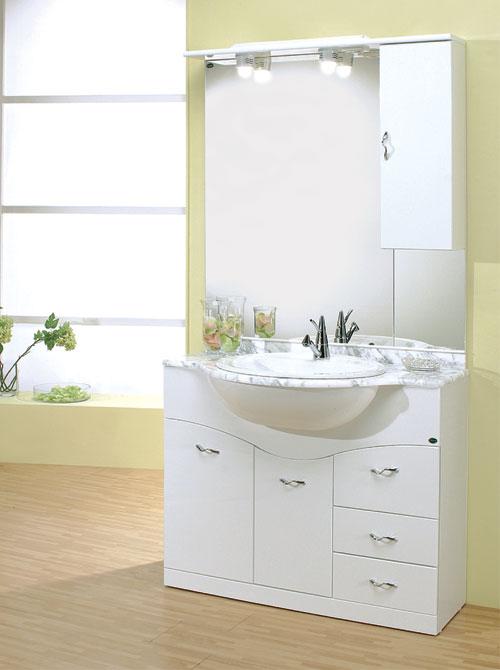 Arredo bagno economico mobile bagno 76 onda con cassetti for Savini arredo bagno