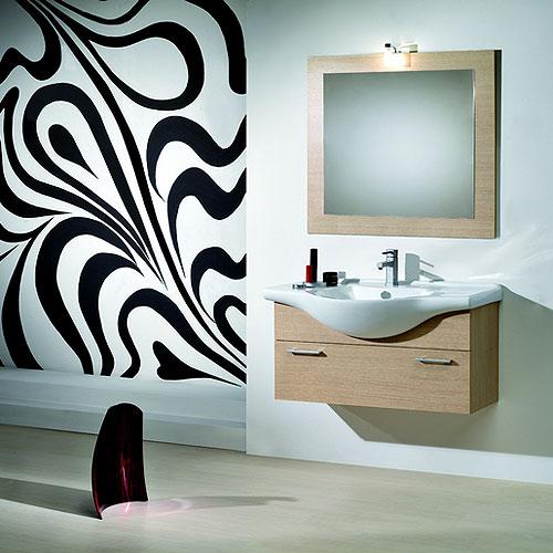 mobili bagno economici : mobile bagno 85 serena - Arredo Bagno Savini