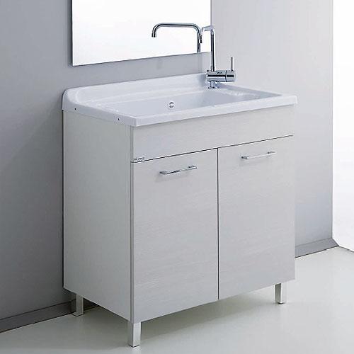Lavanderia e lavatoi mobile lavanderia medusa 80x50 vasca abs - Arredo bagno civita castellana ...