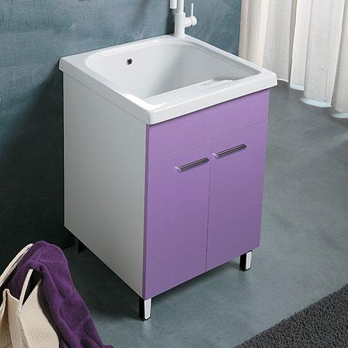 Lavatoi in ceramica: Mobile lavanderia con vasca ceramica 60x50 ...