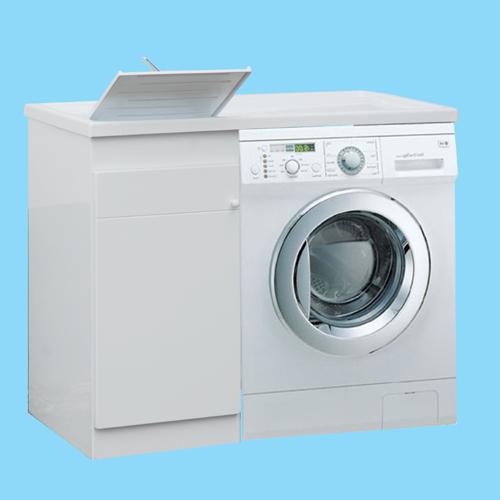 Mobile per posizionare la lavatrice anche in esterno