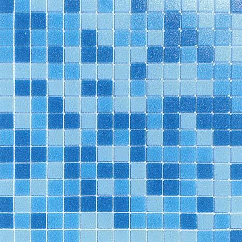 Mosaici in vetro per rivestimenti bagno e piscine jo bagno - Mosaico blu bagno ...