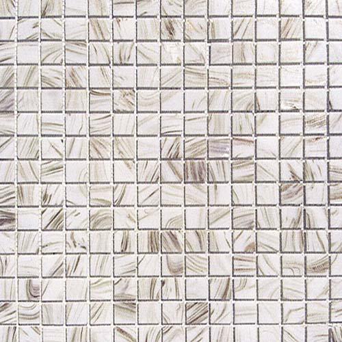 Good Mosaico In Vetro Bianco Ideale Per Rivestimenti Bagno E Piscine Design