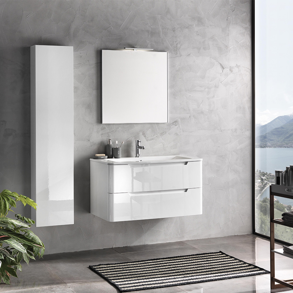 Mobile bagno moderno 95 cm palma offerta on line tft for Mobili bagno in offerta on line
