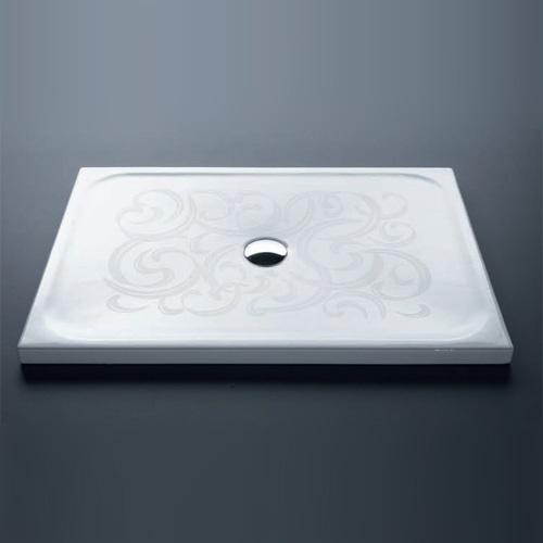 Piatti doccia quadrati piatto doccia 90x9xh4 con antiscivolo for Piatto doccia antiscivolo