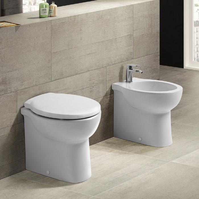 Sanitari pavimento e filomuro sanitari bagno a terra skill 48 for Sanitari bagno misure ridotte