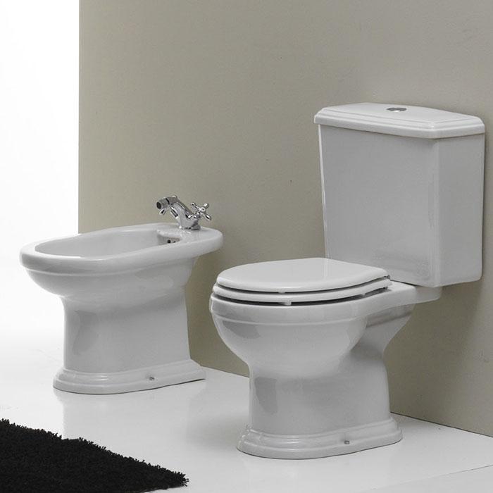 sanitari bagno monoblocco roma nero ceramica