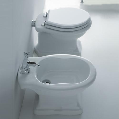 Sanitari bagno a terra pavimento wc e bidet in coppia jo bagno disegno ceramica - Stock sanitari bagno ...