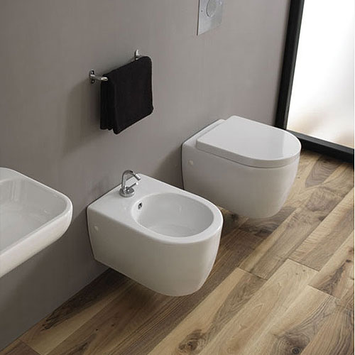 sanitari bagno sospesi skip disegno ceramcia