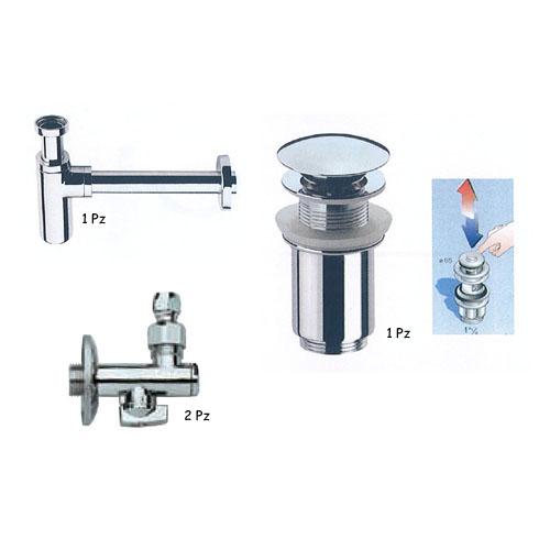 Accessori di montaggio lavabi set tondo accessori montaggio lavabo - Montaggio accessori bagno ...