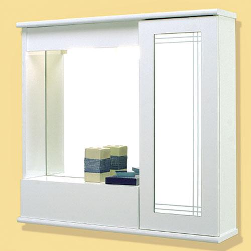 Specchi: Specchiera 70 con un anta con ribalta