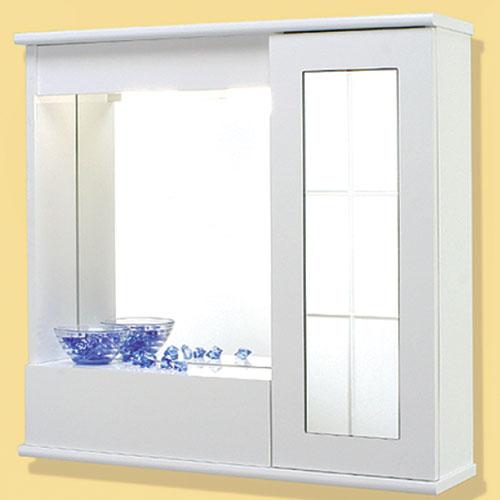 Specchi specchiera 70 con 1 anta specchio con ribalta for Savini arredo bagno
