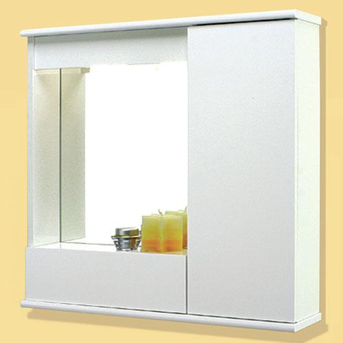 Specchi: Specchiera 70 con 1 anta liscia con ribalta
