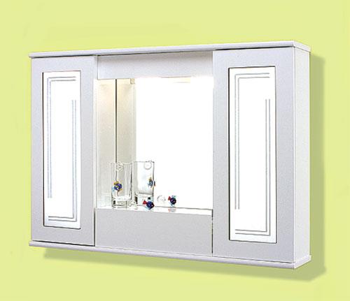 Specchi : Specchiera 90 2 ante specchio con ribalta