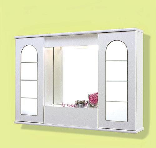 Specchi specchiera 90 2 ante specchio roma con ribalta - Specchi bagno roma ...