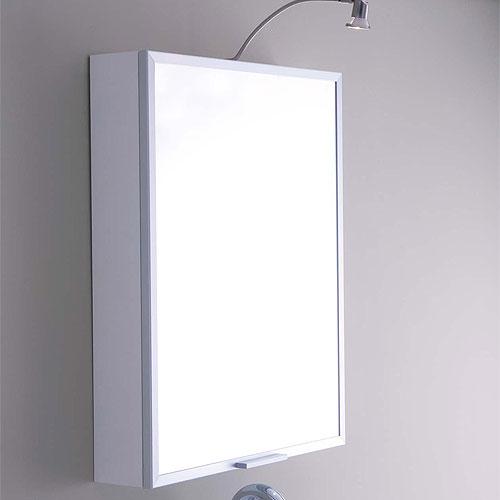 Specchi : Specchio contenitore 60 Bianco