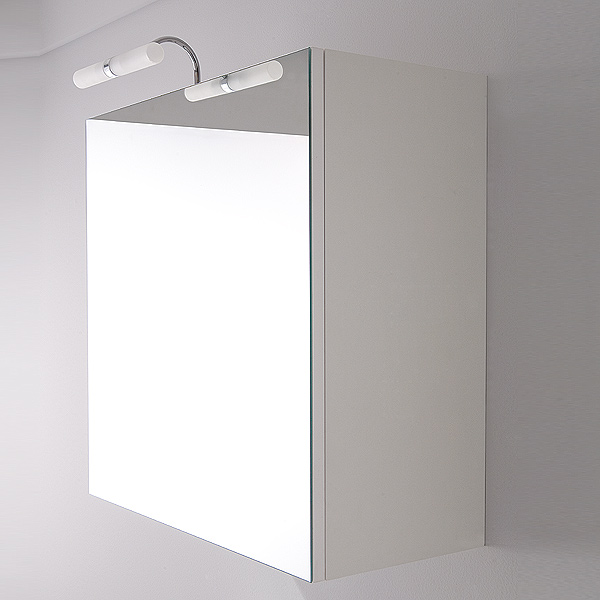 Specchi specchio contenitore quadrato 57x58 - Specchio contenitore bagno ...