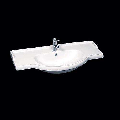 Lavabi Incasso: Top lavabo integrale semincasso Equa 74