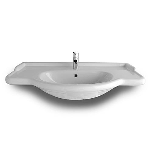 Lavabi incasso top lavabo integrale semincasso harmony 86 - Top lavabo bagno ...