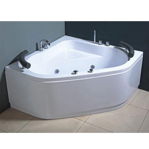Vasche angolari vasca idromassaggio 130x130 paul - Vasche da bagno angolari misure ...