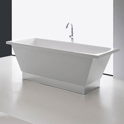 Vasche rettangolari vasca centro stanza 180 city - Vasche da bagno rettangolari grandi ...
