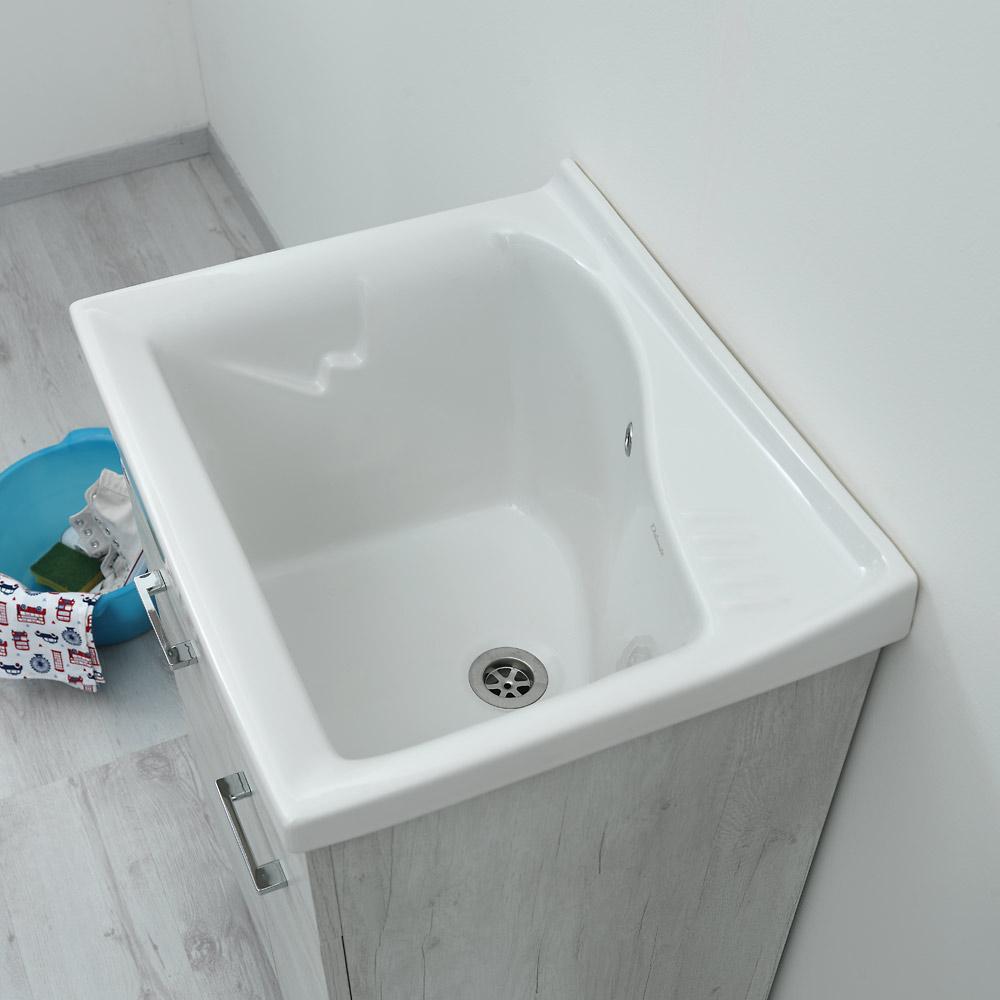 Lavatoio Ceramica Dolomite Lago.Ideal Standard Lavatoio Lago 61x50 A Tutta Vasca