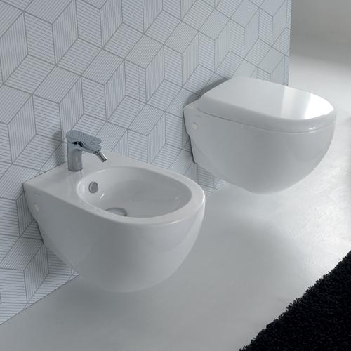 Hidra Ceramica Sanitari.Sanitari Bagno Sospesi Serie Abc